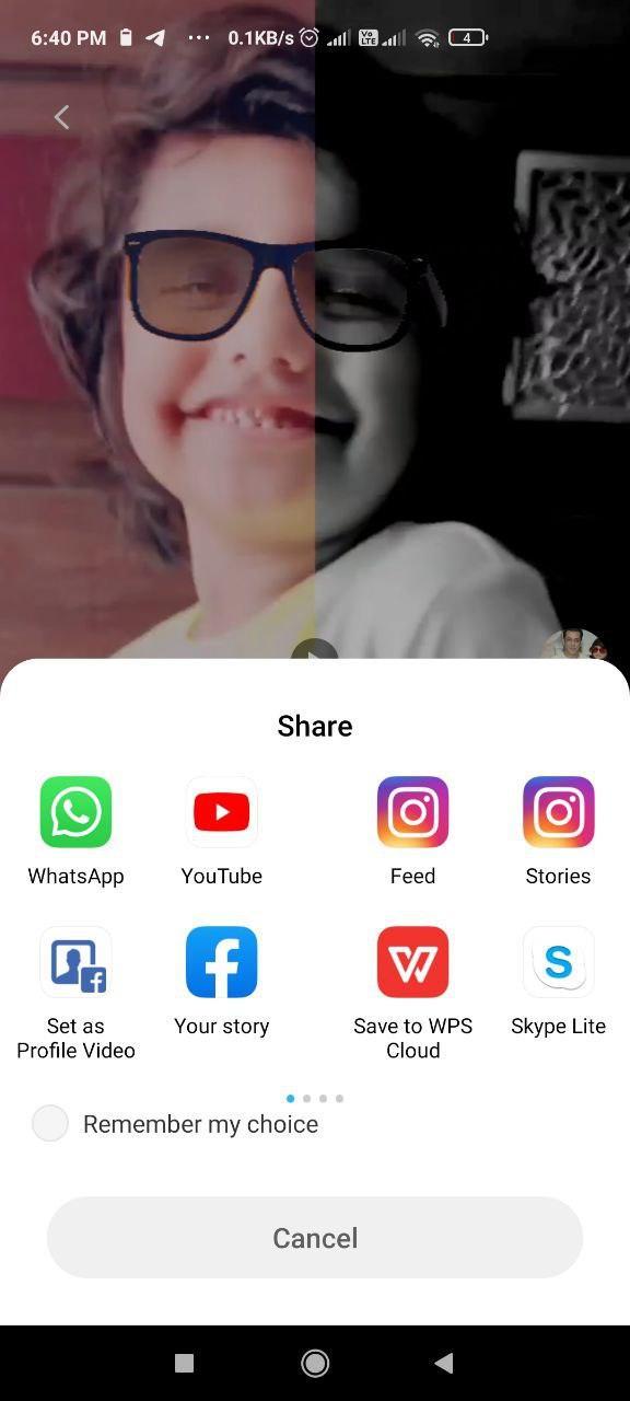 chingari-share-video