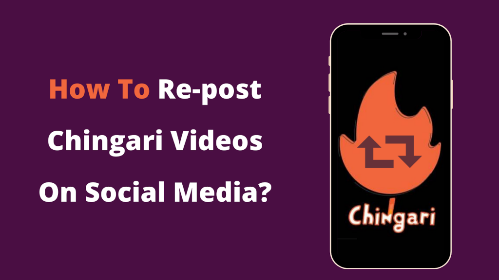 re-post chingari videos