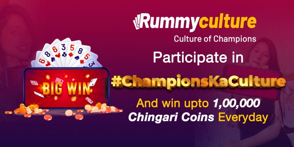 Participate in Championskaculture Rummy Culture