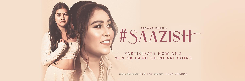 Afsana-khans-new-song-Saazish-banner